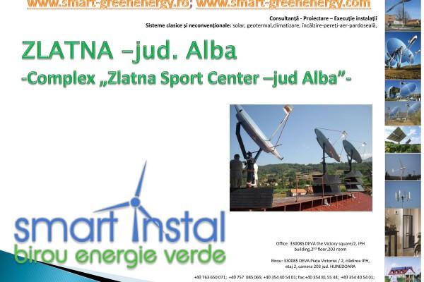 Complex Zlatna Sport Center – jud. Alba